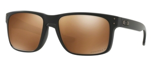 Oakley Holbrook OO9102 D7 Matte Black with Prizm Tungsten Polarized