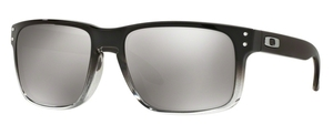 Oakley Holbrook OO9102 A9 Dark Ink Fade / Polarized Chrome Iridium