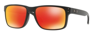 Oakley Holbrook OO9102 E2 Matte Black with Prizm Ruby