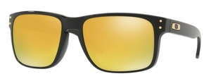 Oakley Holbrook OO9102 E3 Polished Black / 24K Iridium