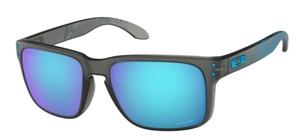 Oakley Holbrook OO9102 F2 Matte Grey Smoke Aero / Prizm Sapphire