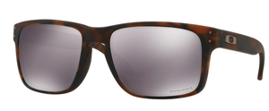 Oakley Holbrook OO9102 F4 Matte Brown Tortoise with Prizm Black