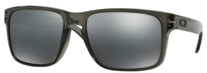 Oakley Holbrook OO9102 Grey Smoke with Black Iridium Lenses
