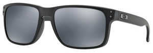 Oakley Holbrook OO9102 Matte Black with Black Iridium Polarized Lenses 62