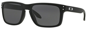 Oakley Holbrook OO9102 01 Matte Black with Warm Grey Lenses
