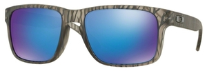 Oakley Holbrook OO9102 Matte Grey Ink Urban Jungle with Sapphire Iridium Lenses