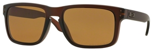 Oakley Holbrook OO9102 Matte Rootbeer with Polarized Bronze Lenses