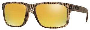 Oakley Holbrook OO9102 Matte Sepia Urban Jungle with 24K Iridium Lenses