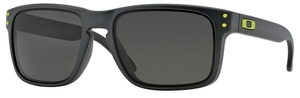 Oakley Holbrook OO9102 Steel with Dark Grey Lenses