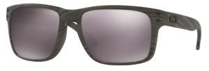 Oakley Holbrook OO9102 B7 Woodgrain with Polarized Daily Prizm Lenses