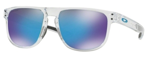 Oakley Holbrook R OO9377 04 Clear with Prizm Sapphire Lenses