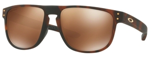 Oakley Holbrook R OO9377 06 Matte Dark Brown Tortoise with Prizm Tungsten Polarized Lenses