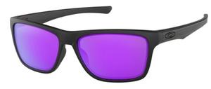 Oakley HOLSTON OO9334 09 Matte Black / Violet Iridium