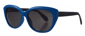 Chakra Eyewear Joan Collins 9955 Blue with Black Temples