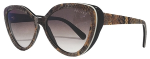 Velvet Joie Boa with Brown Fade Lenses