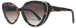 Velvet Joie Leopard with Brown Fade Lenses