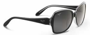 Maui Jim Kalena 299 Black with Crystal