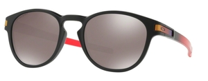 Oakley Latch OO9265 26 Ruby Fade with Prizm Black Polarized Lenses