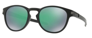 Oakley Latch OO9265 28 Matte Black with Prizm Jade