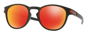 Oakley Latch OO9265 29 Matte Black with Prizm Ruby