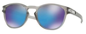 Oakley Latch OO9265 32 Matte Grey Ink with Prizm Sapphire Polarized Lenses