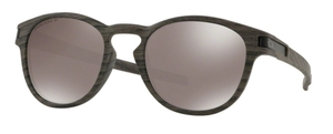 Oakley Latch OO9265 38 Woodgrain with Prizm Black Polarized