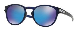 Oakley Latch OO9265 42 Grid Matte Translucent Blue w/ Prizm Sapphire