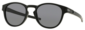 Oakley Latch OO9265 01 Matte Black with Grey Lenses