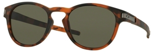 Oakley Latch OO9265 02 Matte Brown Tortoise with Dark Grey Lenses