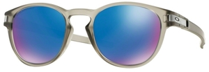 Oakley Latch OO9265 08 Matte Grey Ink with Polarized Sapphire Iridium Lenses