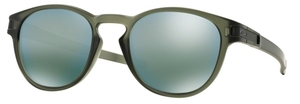 Oakley Latch OO9265 05 Matte Olive Ink with Emerald Iridium Lenses
