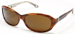 Alexander Daas Love light tortoise / creme with brown lens