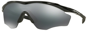 Oakley M2 FRAME XL OO9343 04 Polished Black with Black Iridium
