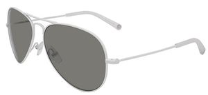 Michael Kors M2047S JET SET AVIATOR White