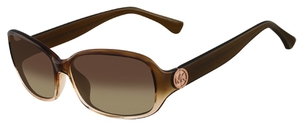 Michael Kors M2844S Eve Lt. Brown/Pink Gradient