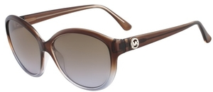 Michael Kors M2943S NICOLE Brown/Smoke Gradient