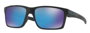 Oakley MAINLINK OO9264 30 Polished Black with Prizm Sapphire Lenses