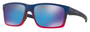 Oakley MAINLINK OO9264 32 Blue Pop Fade with Prizm Sapphire Lenses