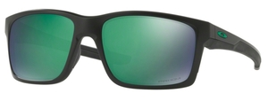 Oakley MAINLINK OO9264 34 Matte Black with Polarized Prizm Jade Lenses