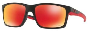 Oakley MAINLINK OO9264 35 Polished Black with Polarized Prizm Ruby Lenses