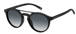 Marc Jacobs Marc 107/S Shiny Black/Dark Grey Lens-not rx'able