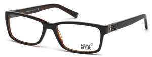 Montblanc MB0443 Shiny Black