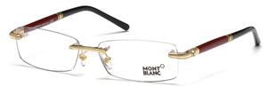 Montblanc MB0474 Shiny Endura Gold