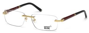 Montblanc MB0483 Shiny Endura Gold