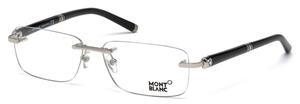 Montblanc MB0483 Shiny Palladium