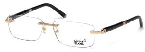 Montblanc MB0483 Shiny Rose Gold