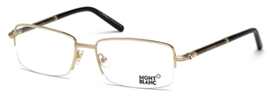 Montblanc MB0493 Shiny Endura Gold