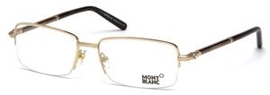 Montblanc MB0493 Shiny Rose Gold