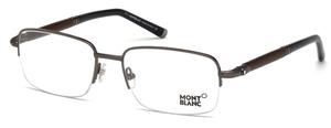 Montblanc MB0534 Shiny Gunmetal
