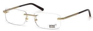 Montblanc MB0538 Shiny Gold